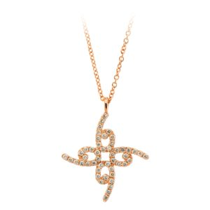 Pendant Essence 6 with Diamonds