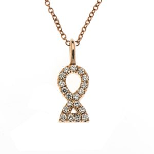 Pendant Harmony 8 with Diamonds