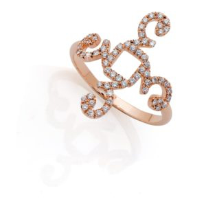 Ring Floating 3 with Diamonds