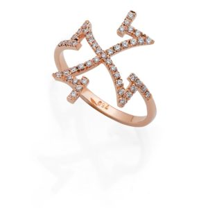Ring Intuition 4 with Diamonds